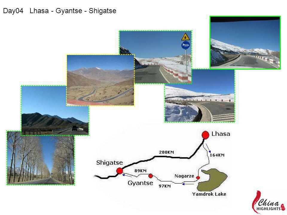 Day04 Lhasa - Gyantse - Shigatse