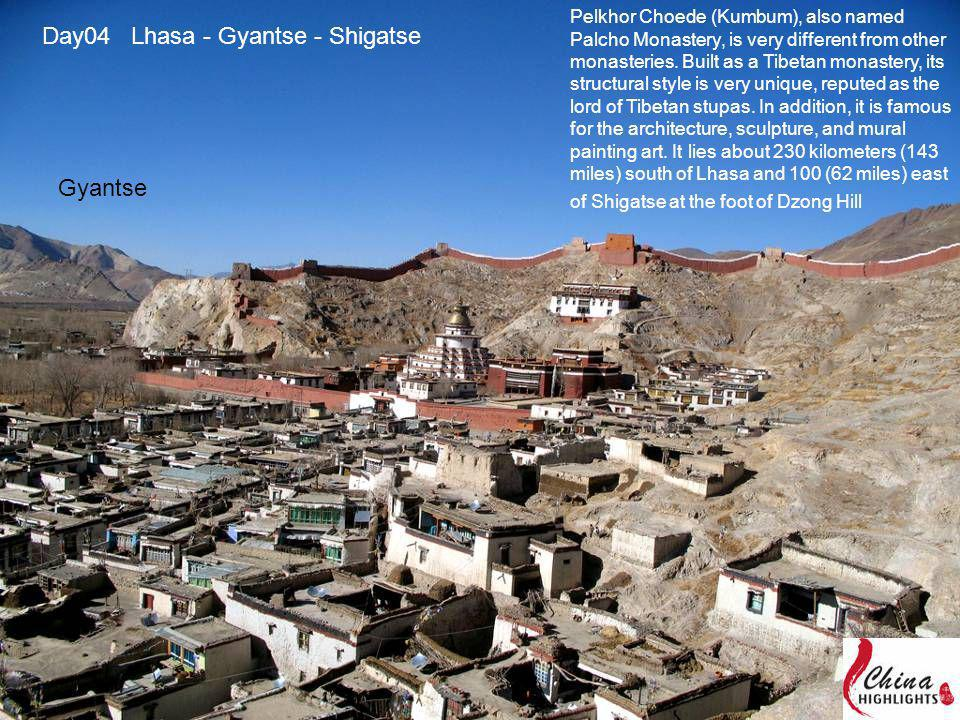 Pelkhor Choede (Kumbum), also named Palcho Monastery, is very different from other monasteries. Built as a Tibetan monastery, its structural style is