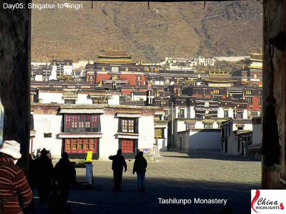 Day05: Shigatse to Tingri Tashilunpo Monastery
