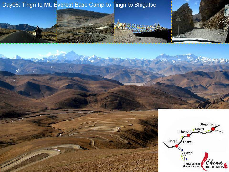 Day06: Tingri to Mt. Everest Base Camp to Tingri to Shigatse