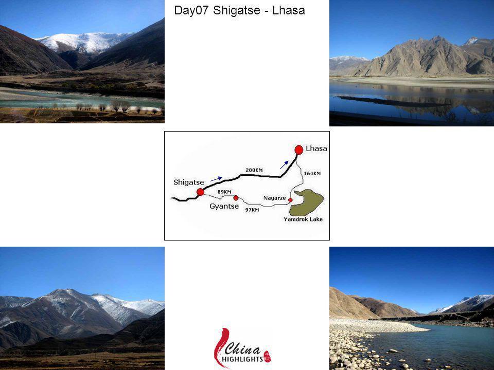 Day07 Shigatse - Lhasa