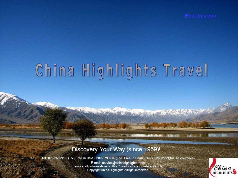 Discovery Your Way (since 1959)! Book this tour Tel: 800-2682918 (Toll Free in USA); 800-8793-007(Toll Free in China);86-773-2831999(for all countries