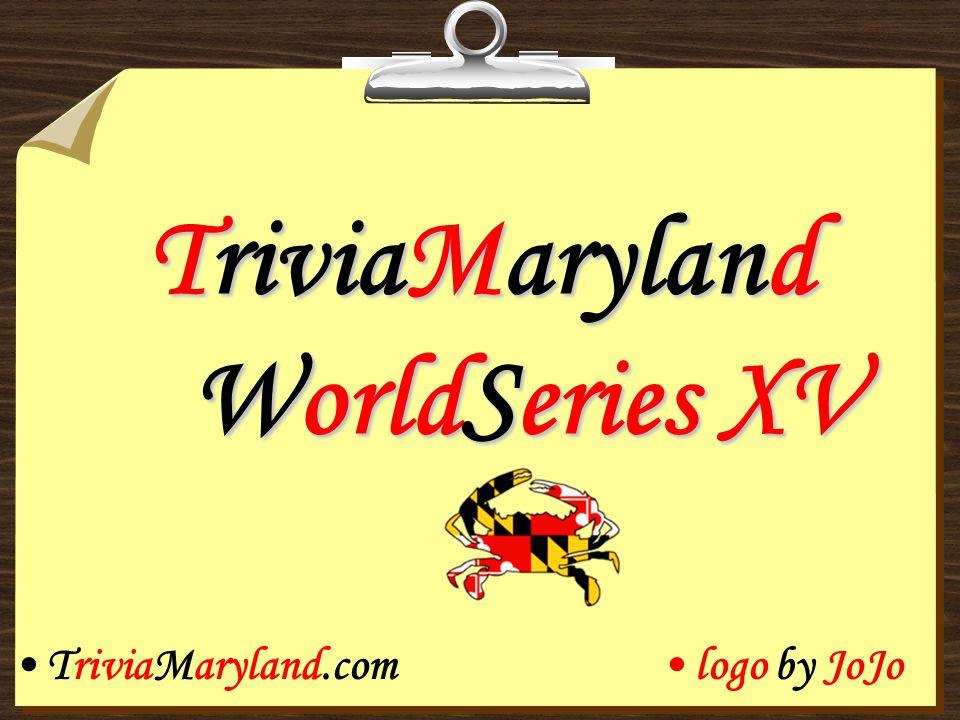 TriviaMaryland WorldSeries XV TriviaMaryland.comlogo by JoJo