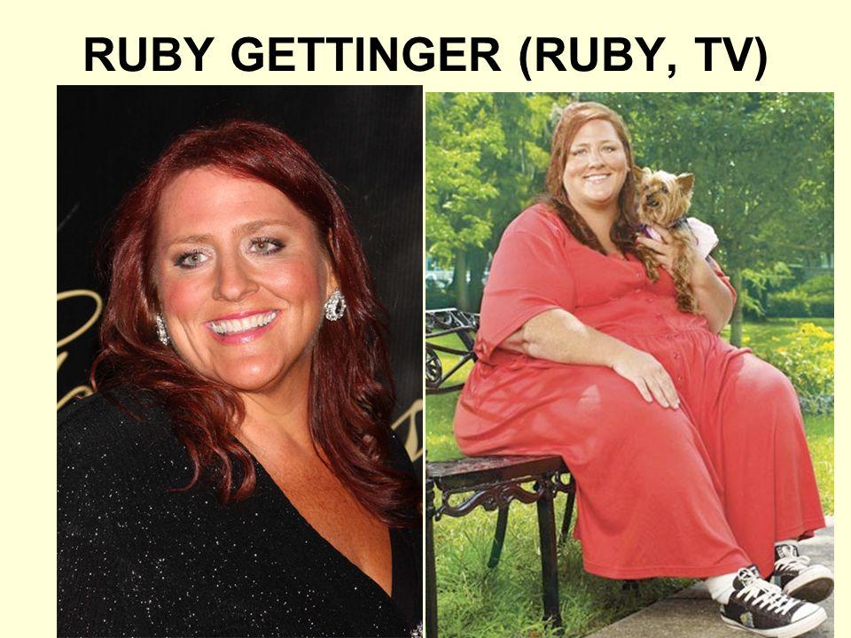 RUBY GETTINGER (RUBY, TV)