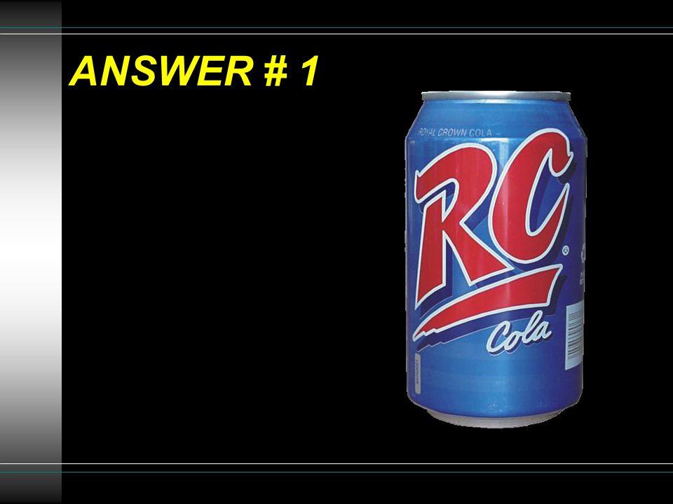 ANSWER # 1