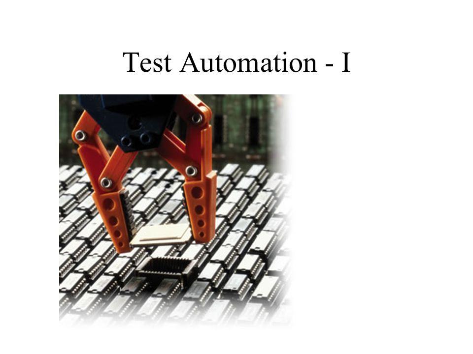 Test Automation - I