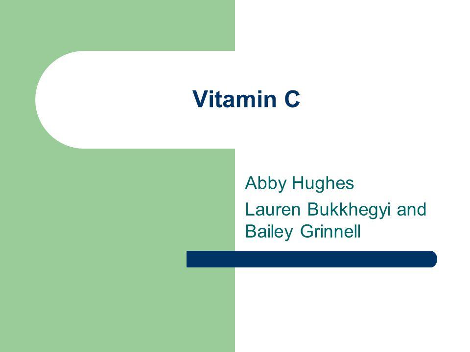 History of Vitamin C 17 th century – sailors got scurvy on ships and ship surgeon, James Lind, prescribed lemon juice as preventative.