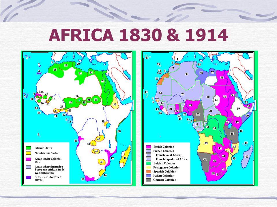 AFRICA 1830 & 1914