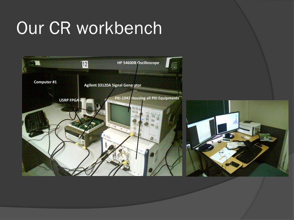 Our CR workbench
