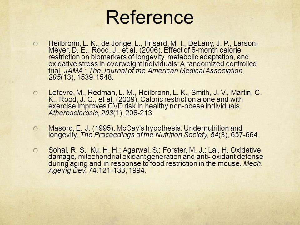 Reference Heilbronn, L. K., de Jonge, L., Frisard, M.