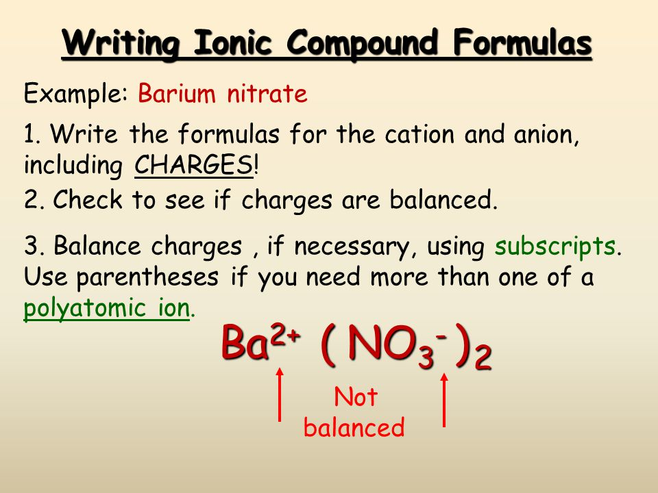 Predicting Ionic Charges Groups 3 - 12: Groups 3 - 12: Some transition metals have only one possible oxidation state. Zinc = Zn 2+ Silver = Ag +