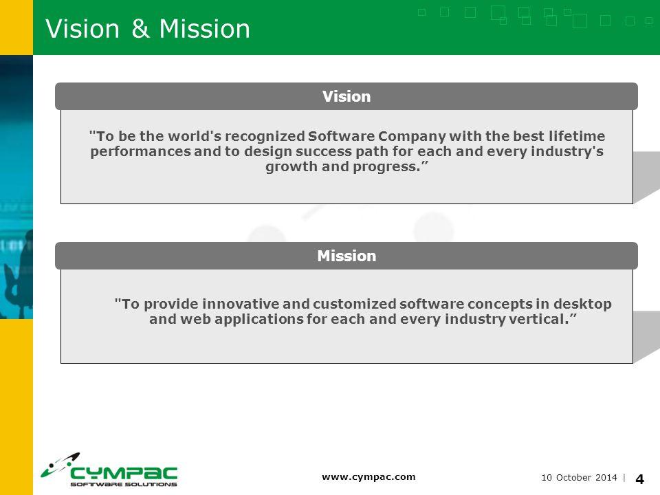 10 October 2014   www.cympac.com 5 Services System Consulting On RHEL Linux, Solaris, IBM-AIX Database (Oracle, Postgres) Consulting Storage (SAN/NAS) Consulting in IBM, EMC, NetApp.
