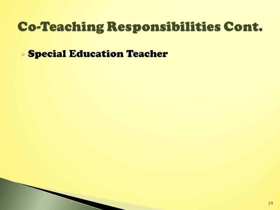  Special Education Teacher 24