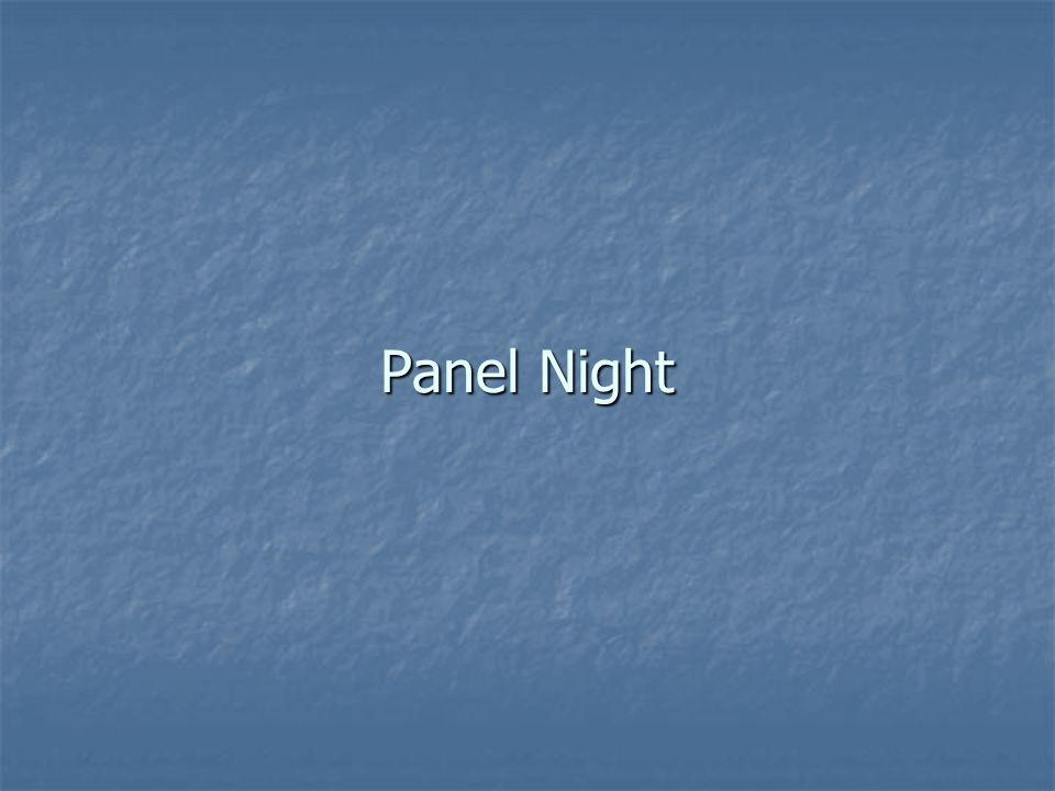 Panel Night