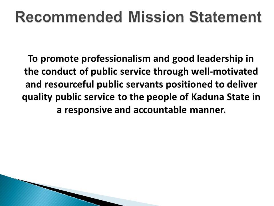 Permanent Secretary Director PSO Director Admin & Finance Director MDA Performance Management