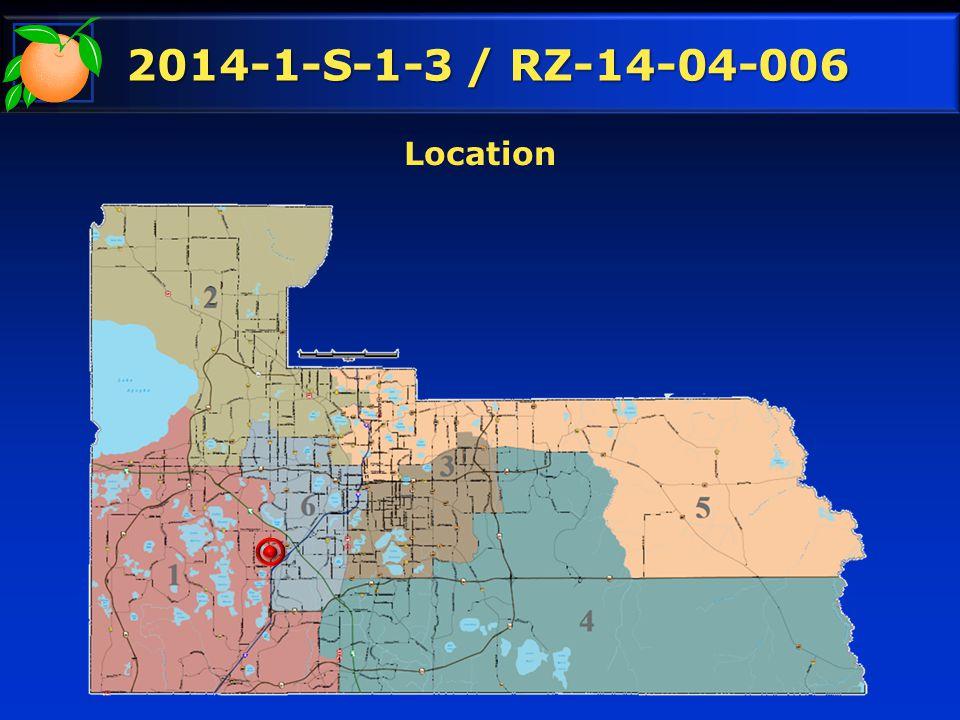 2014-1-S-1-3 / RZ-14-04-006 Location