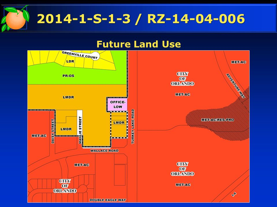 2014-1-S-1-3 / RZ-14-04-006 Future Land Use