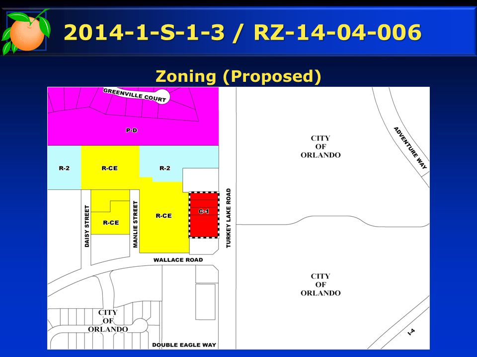 2014-1-S-1-3 / RZ-14-04-006 Zoning (Proposed)