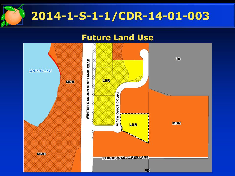 2014-1-S-1-1/CDR-14-01-003 Future Land Use