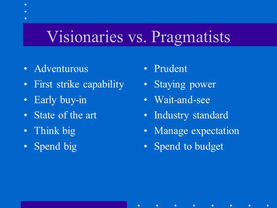 Visionaries vs.
