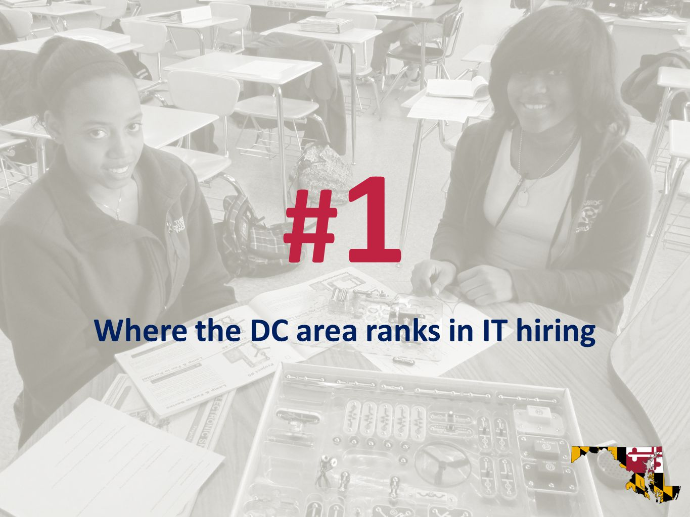 #1#1 Where the DC area ranks in IT hiring
