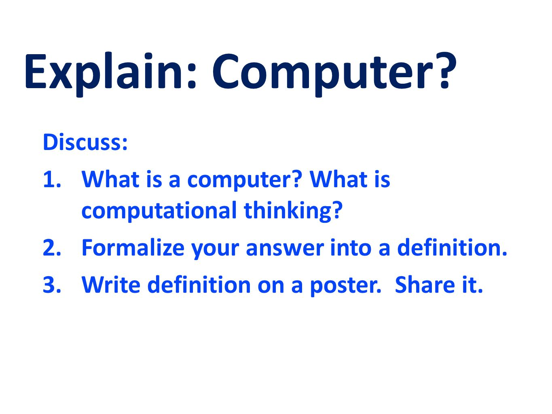 Reinventing the CS Class: Computer Science Principles Pat Yongpradit