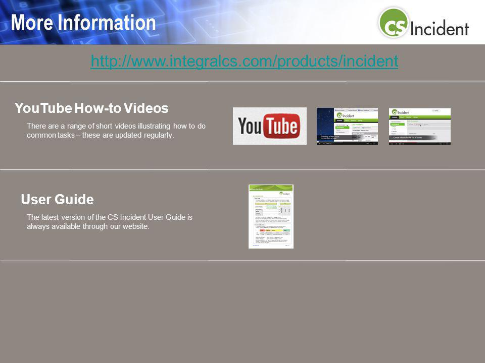 More Information YouTube How-to Videos There are a range of short videos illustrating how to do common tasks – these are updated regularly.