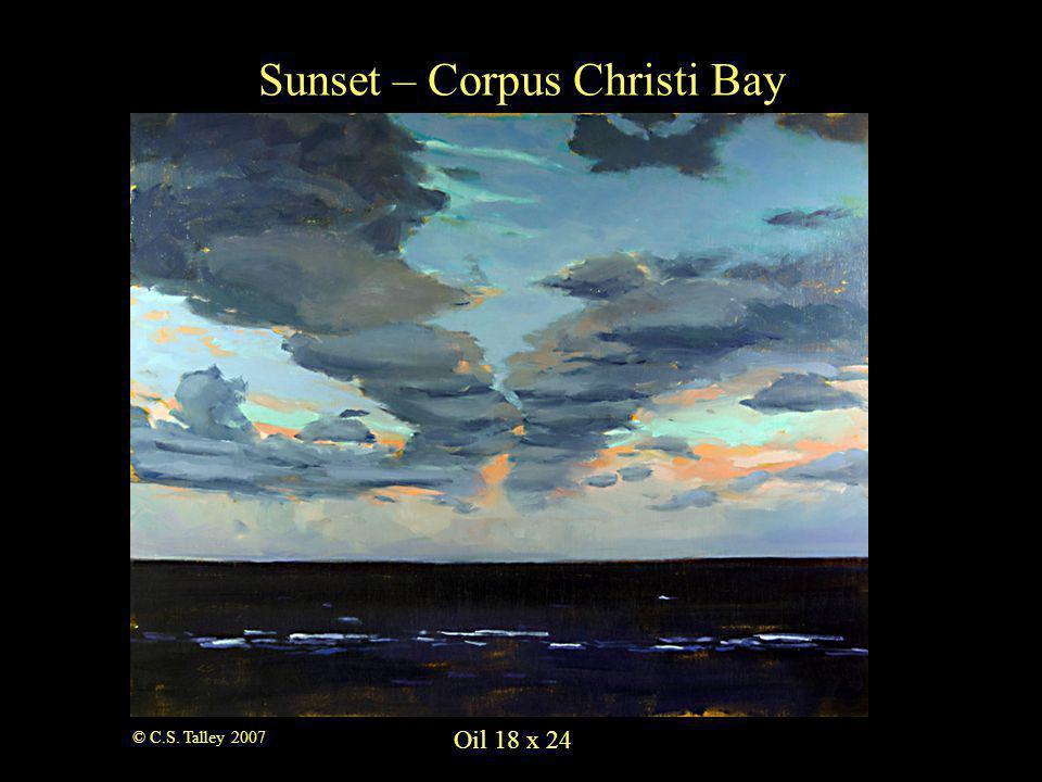 Oil 8 x 10 A Good Neighbor © C.S. Talley 2007