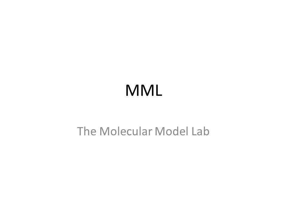 MML The Molecular Model Lab