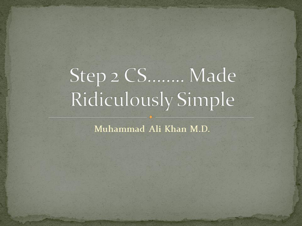 Muhammad Ali Khan M.D.