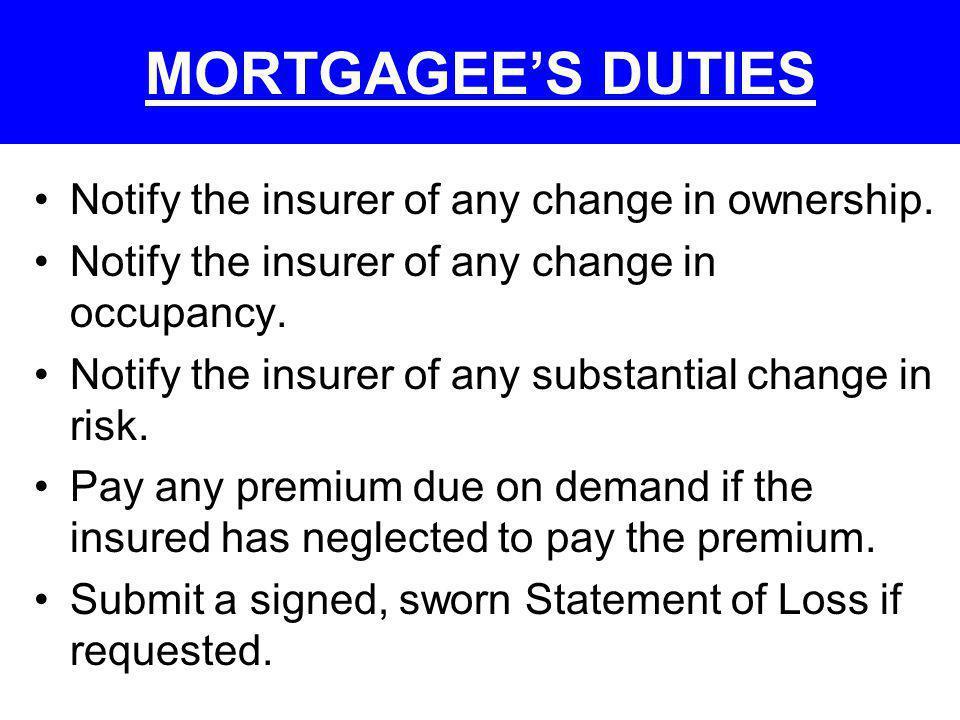IMPACT OF FORECLOSURE BEFORE LOSS & AFTER LOSS Foreclosure After Loss Full Credit Bid vs.