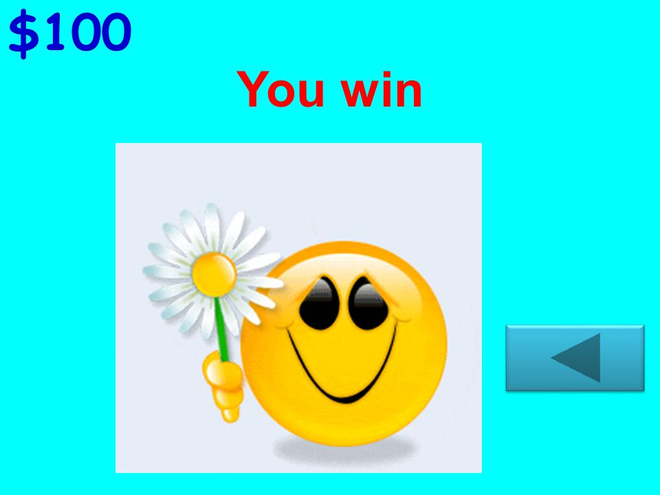 You win $400