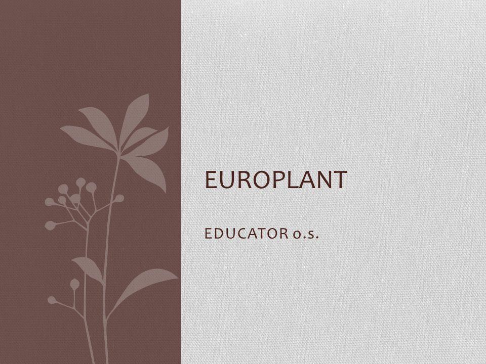 EDUCATOR o.s. EUROPLANT