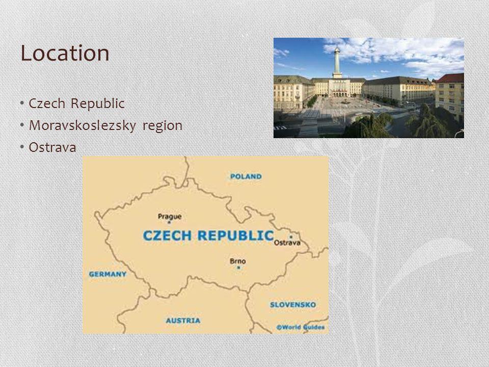 Location Czech Republic Moravskoslezsky region Ostrava