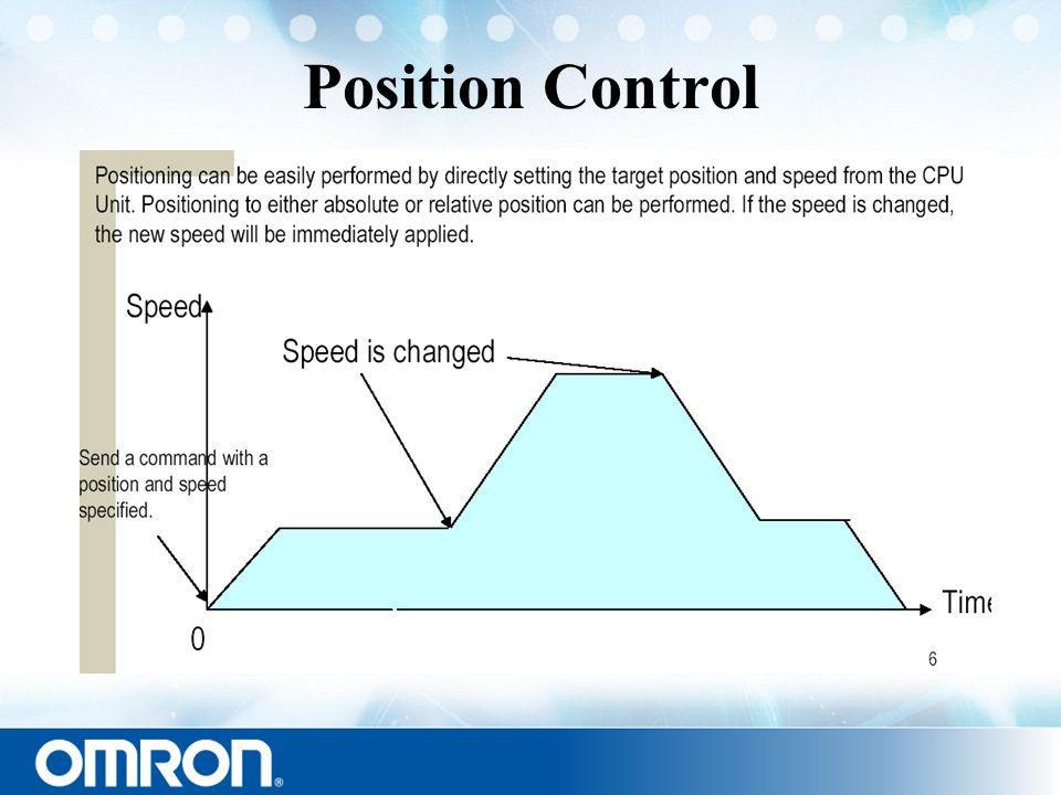 Position Control