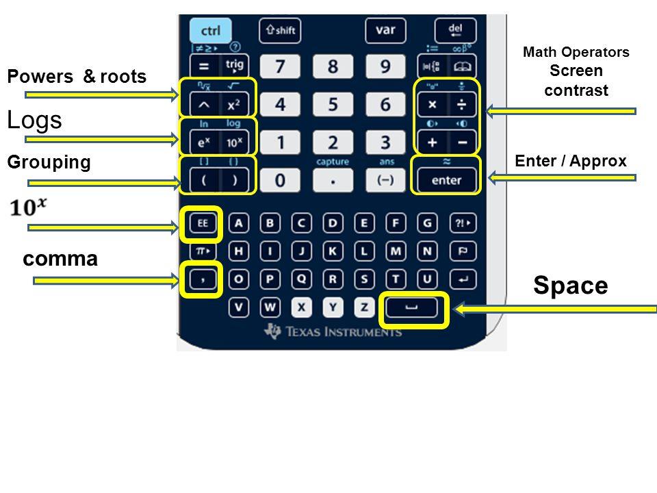 MENUS, ANYONE? Calculator Menu Ctrl menu (Context Menu – right click)