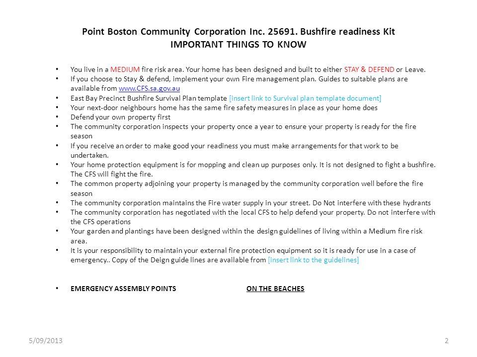 Point Boston Community Corporation Inc.25691.