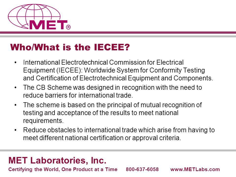 Typical CB Project Flowchart MET Laboratories, Inc.