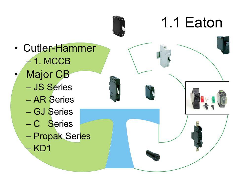 1.1 Eaton Cutler-Hammer –1.