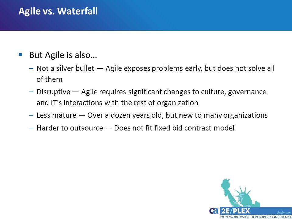 Agile vs.