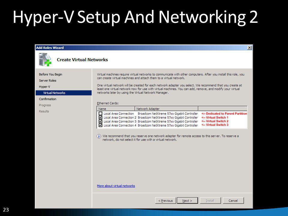 23 Hyper-V Setup And Networking 2