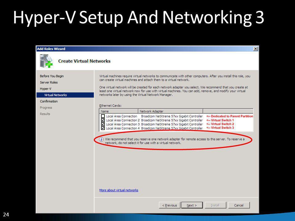 24 Hyper-V Setup And Networking 3