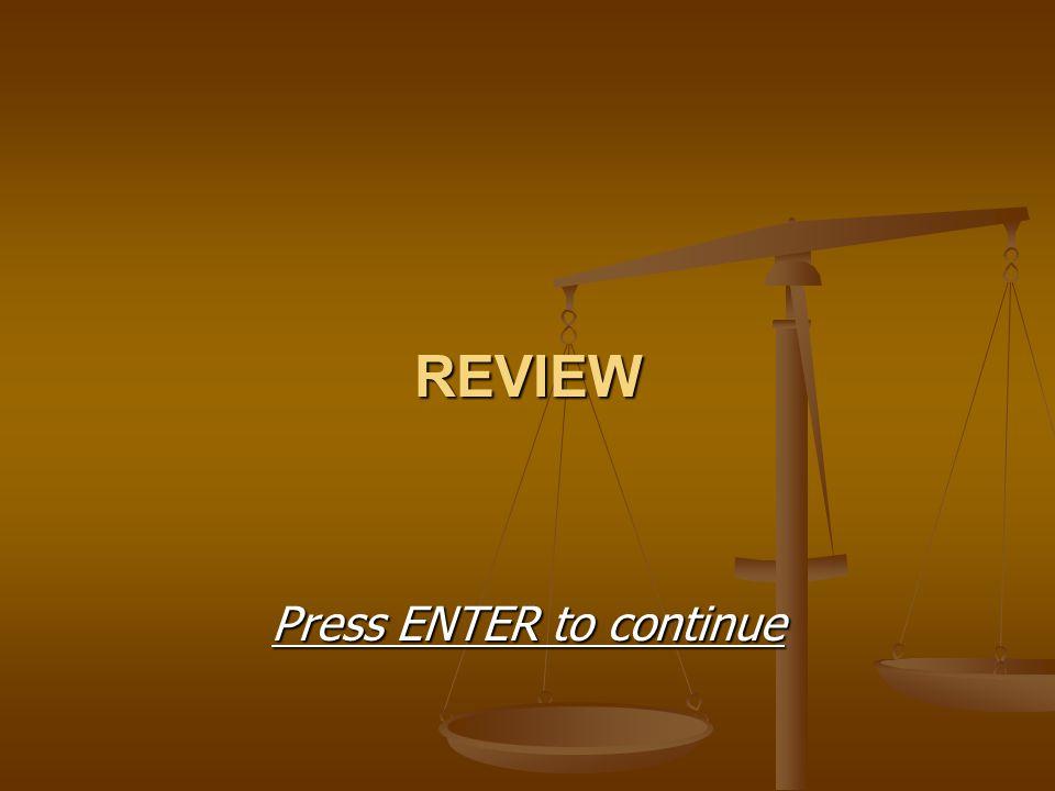 REVIEW Press ENTER to continue