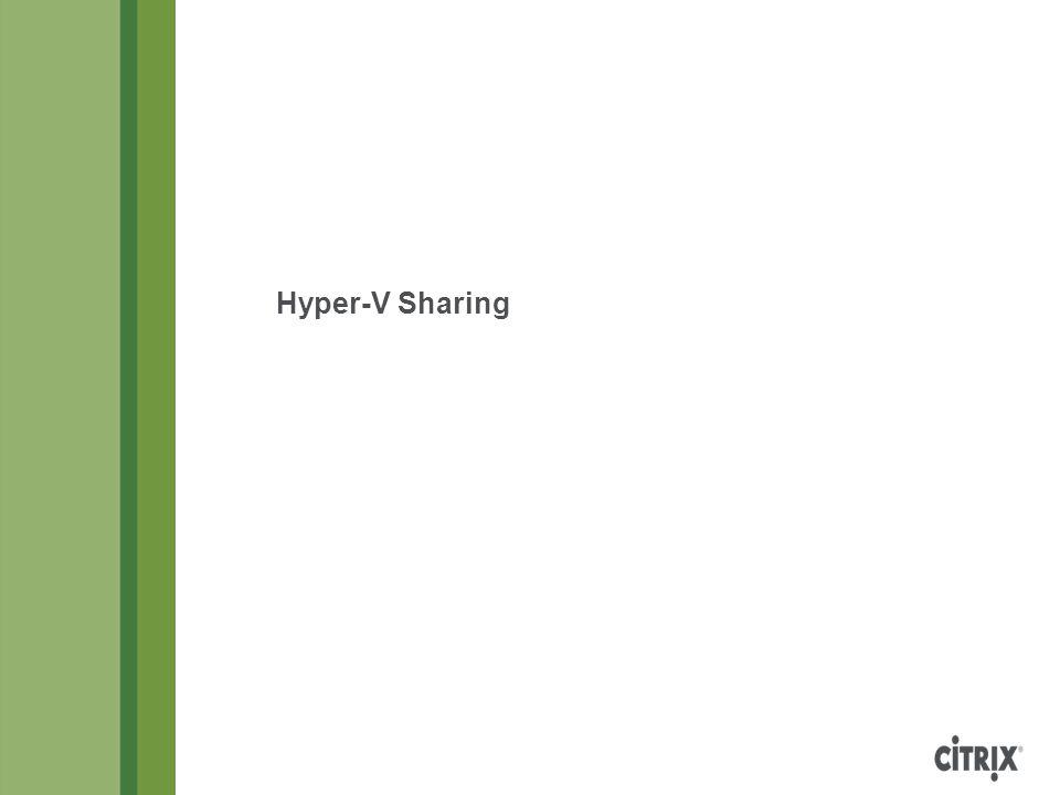 Hyper-V Sharing