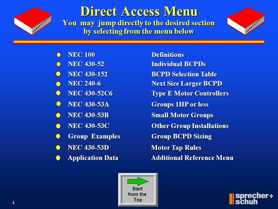 3 A Guide to Applying According to NEC and UL Motor Circuit Controllers U L Tested