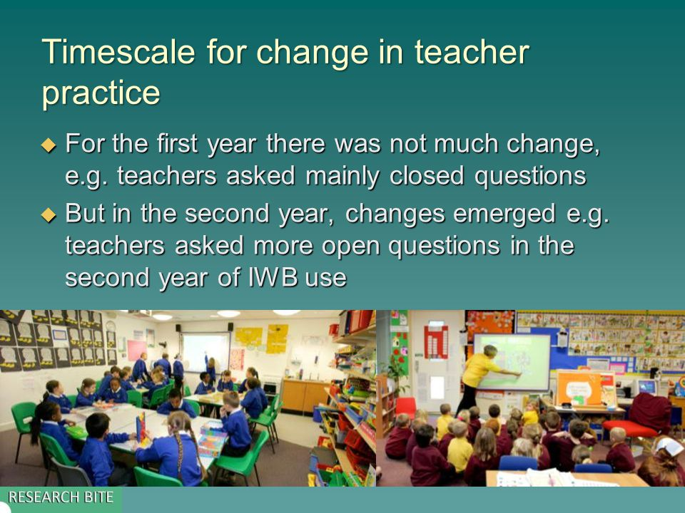 Types of teacher questions  Open question – no right or wrong answer  Closed question – single, or limited, number of correct responses  Repeat question –same question again  Uptake question – teacher builds on a previous answer by asking a different pupil a related question  Probe – teacher asks a pupil for further information, usually by asking a Why or How Question