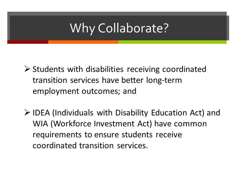 Why Collaborate.
