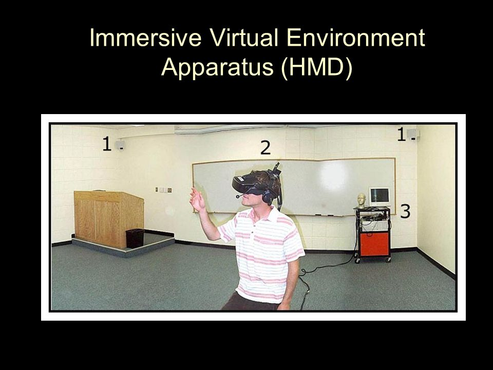 Immersive Virtual Environment Apparatus (HMD)