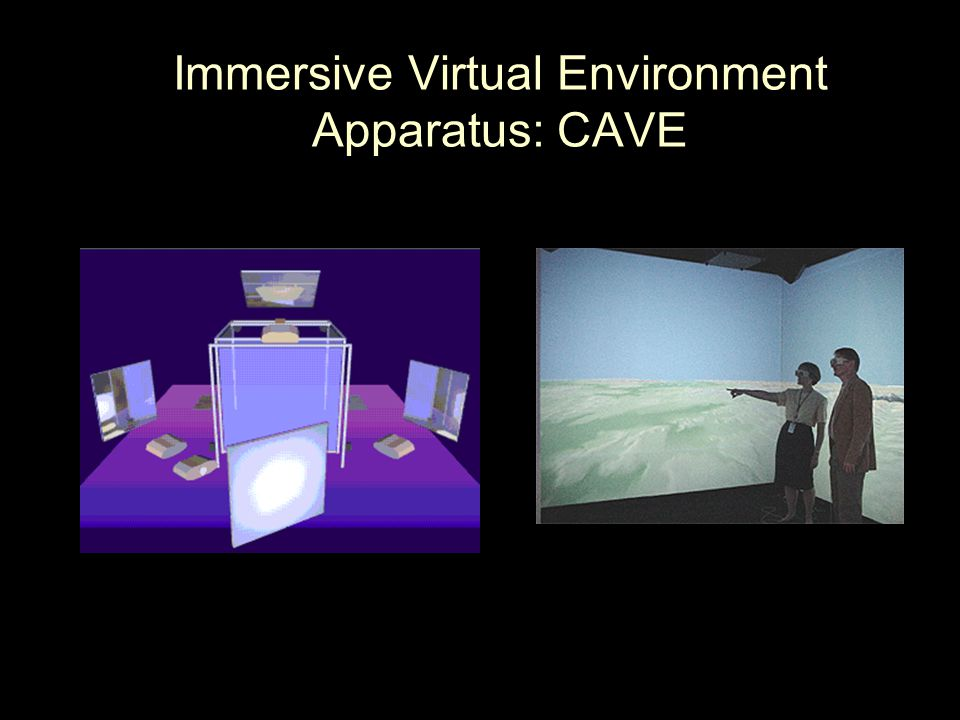 Immersive Virtual Environment Apparatus: CAVE