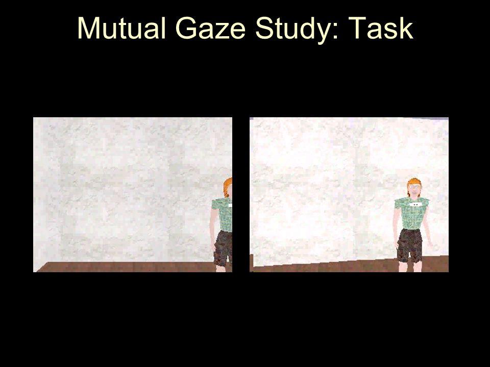 Mutual Gaze Study: Task